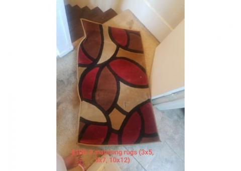 Area Rugs!!! Good condition!!